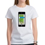 Potassium Text Msg. Women's T-Shirt