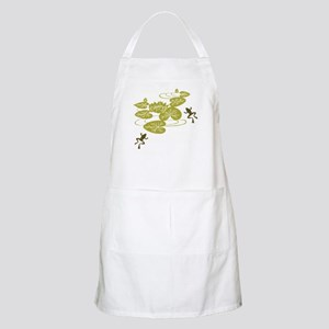 Frogs with Lily pads Apron