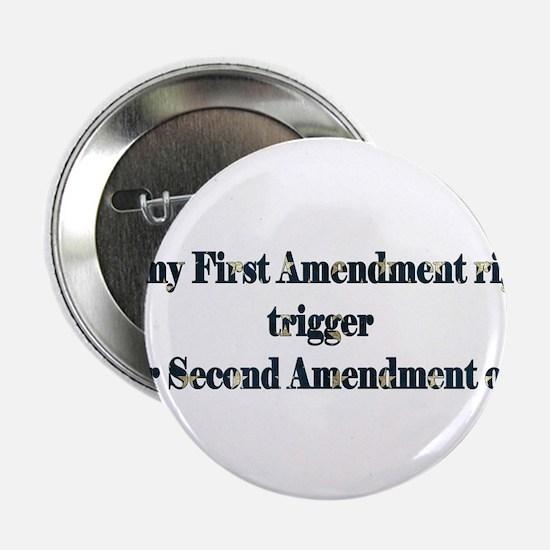 """First & Second Amendments 2.25"""" Button"""