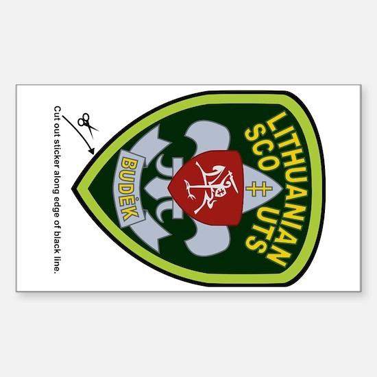 Lietuvos Skautai Sticker (Badge)
