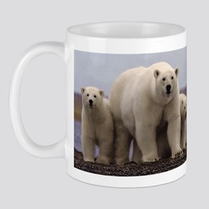 polar Bear Family Mug