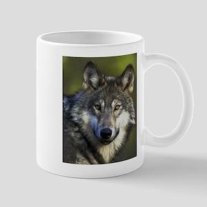 Lone Grey Wolf Mug