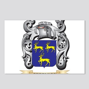 Greenman Coat of Arms - F Postcards (Package of 8)