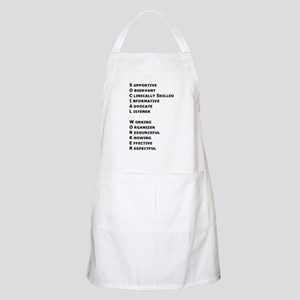 What is a Social Worker? BBQ Apron