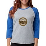 dark transparent Womens Baseball Tee