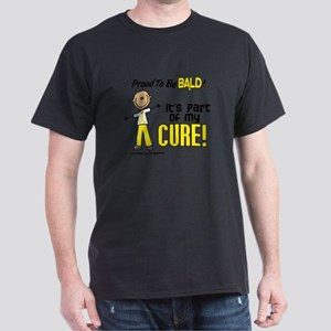 Bald 1 Childhood Cancer (SFT) T-Shirt