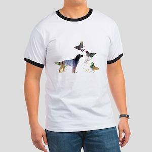 English Setter Art T-Shirt