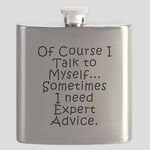 Talk to Myself Flask