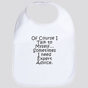 Talk to Myself Bib