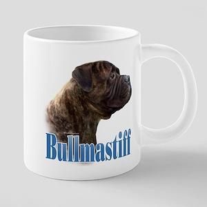 Bullmastiff(brindle)Name Mugs