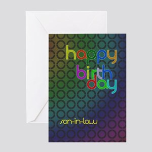 Son Law Birthday Greeting Cards