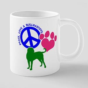 P,l,bullmastiff Mug Mugs