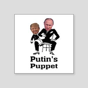 Trump Putin's Puppet Sticker