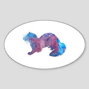 Ferret artwork Sticker