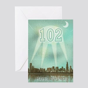 102 Greeting Card