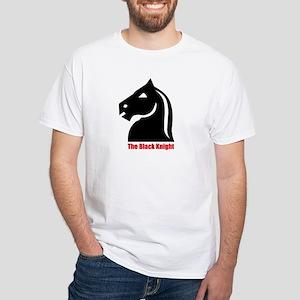 White T-Shirt - The Black Knight