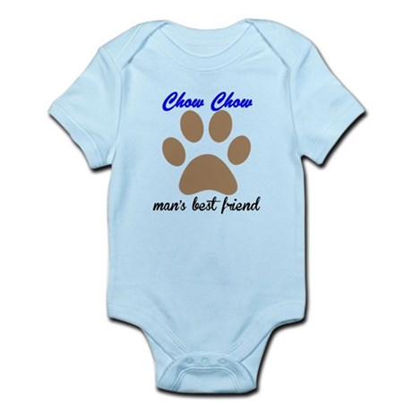Chow Chow Mans Best Friend Body Suit