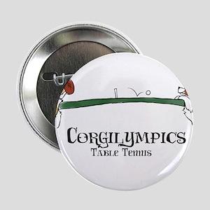 """Corgilympics: Table Tennis 2.25"""" Button"""