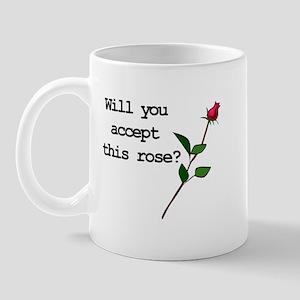 Accept This Rose Mug