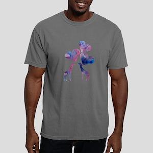 Giraffe Art Mens Comfort Colors Shirt