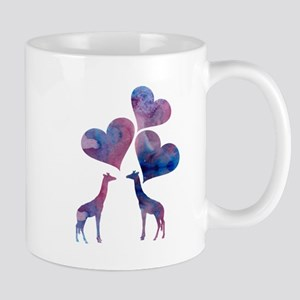 Giraffe Art Mugs