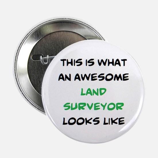 "awesome land surveyor 2.25"" Button"