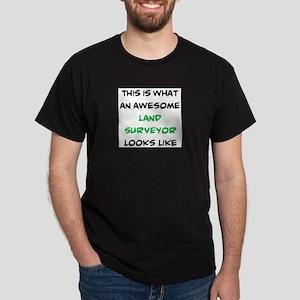 awesome land surveyor Dark T-Shirt