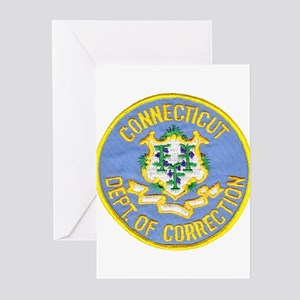 Connecticut Correction Greeting Cards (Package of