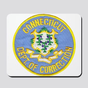 Connecticut Correction Mousepad