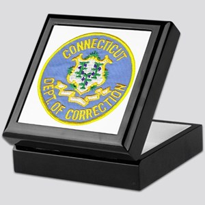 Connecticut Correction Keepsake Box