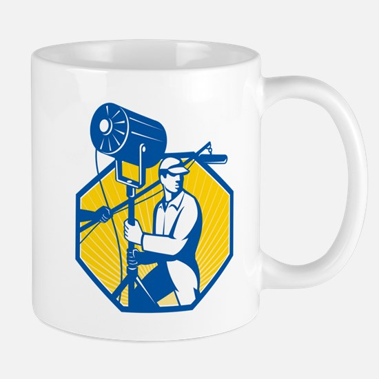 Electrical Lighting Technician Crew Spotlight Mug