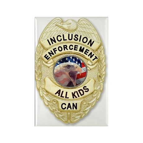 Inclusion Patrol Rectangle Magnet (10 pack)