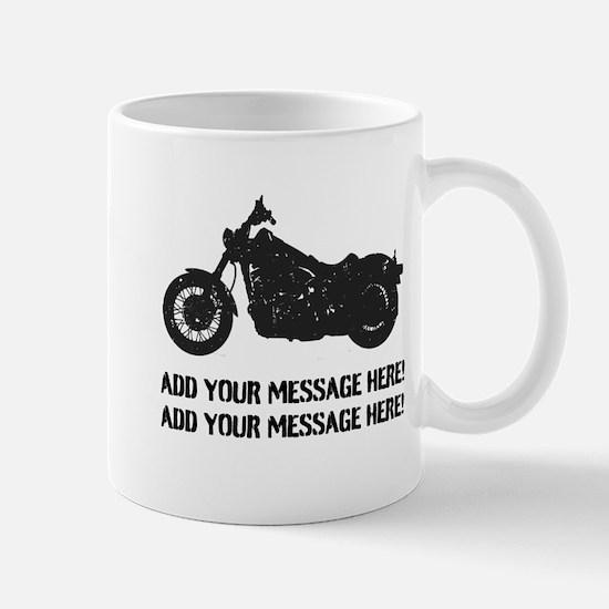 Personalize It, Motorcycle Mug