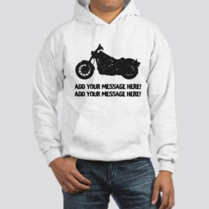 Personalize It, Motorcycle Hoodie