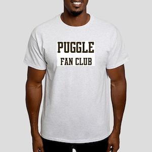 Puggle Fan Club Ash Grey T-Shirt
