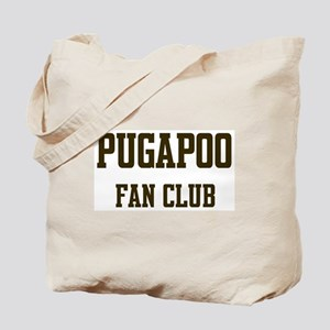 Pugapoo Fan Club Tote Bag