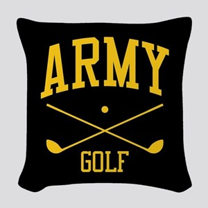 U.S. Army Golf Woven Throw Pillow
