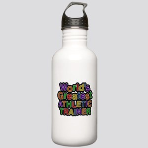 Worlds Greatest ATHLETIC TRAINER Water Bottle