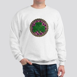 Shamrock And Celtic Knots Sweatshirt