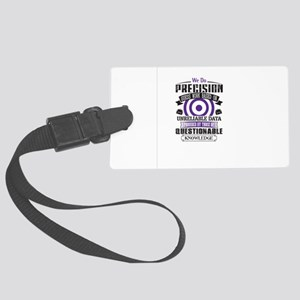 Questionable Knowledge Large Luggage Tag