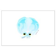 Deep Sea Glass Octopus t Posters