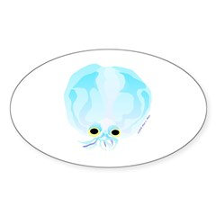 Deep Sea Glass Octopus t Decal