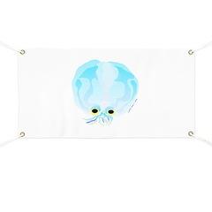 Deep Sea Glass Octopus t Banner