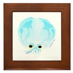 Deep Sea Glass Octopus t Framed Tile
