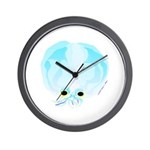 Deep Sea Glass Octopus t Wall Clock