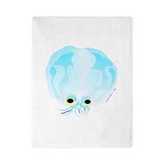 Deep Sea Glass Octopus t Twin Duvet