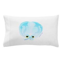 Deep Sea Glass Octopus t Pillow Case