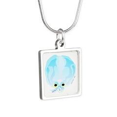 Deep Sea Glass Octopus t Necklaces