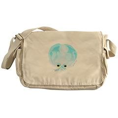Deep Sea Glass Octopus t Messenger Bag