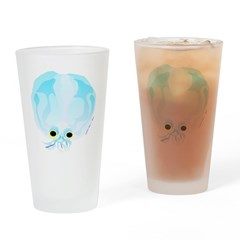 Glass Octopus c Drinking Glass